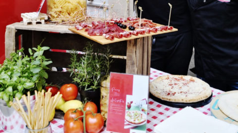 Buffet Italien pour Linklaters